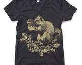 Womens Boxing SQUIRREL T Shirt american apparel S M L XL (17 Colors)