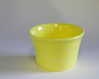 Yellow Flower pot