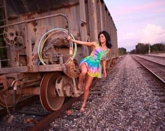 Custom Silk Flow Dress