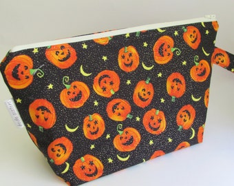 Halloween Medium Knitting Project Bag