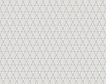 COUPON CODE SALE - Riley Blake Designs, Remember, Dots, Gray, Carina Gardner, Designer Cotton Quilt Fabric, Light Tonal Quilting Fabric
