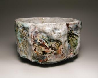 Chawan 20 / Raku tea bowl / bol à thé raku / 122 x 75 mm