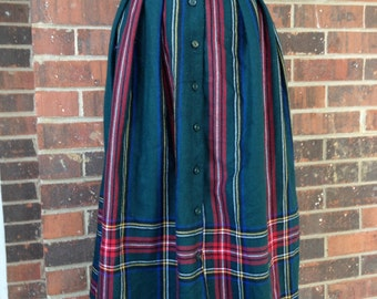 Plaid Vintage Skirt