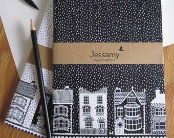 A5 House notebook - Set of 2