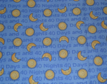 One Yard Debbie Mumm Noah's 40 Days Fabric