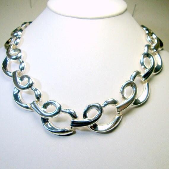 Large Lion Chain Necklace