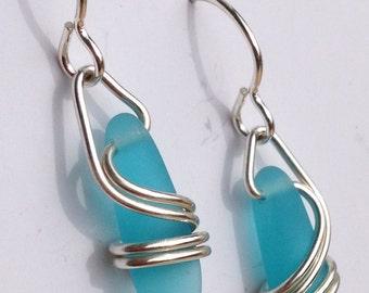 AQUA  Right Coast Earrings