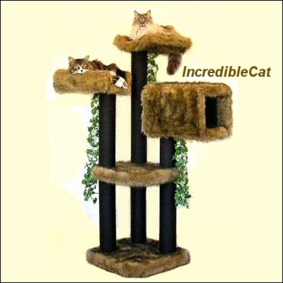 Designer Cat Furniture Tree Best Cat Beds High By