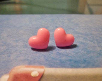 SALE - Mini Heart Stud Earrings