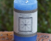 PEACEFUL SLEEP Signature Spell Candle by Witchcrafts Artisan Alchemy