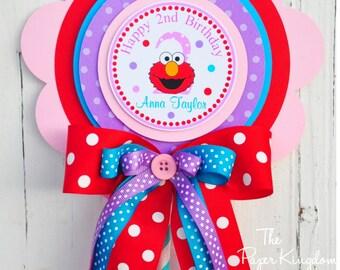 Deluxe Elmo Centerpiece, Birthday Centerpiece, Elmo Birthday Party