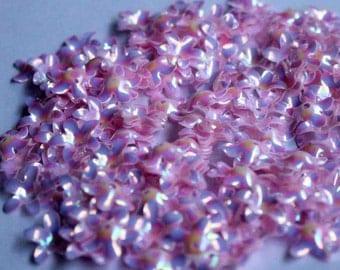 100 Pink Color Flower sequins/KBSF444