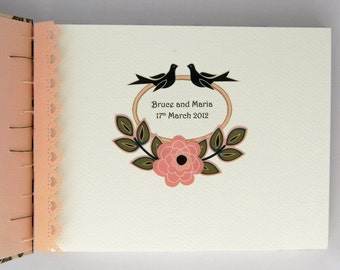 Custom Guest Book Label or Bookplate - Add a Label to your LizzieMade Book