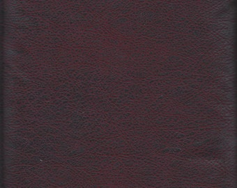 Price Reduced!  Burgundy Faux Leather Texture (19627-BUR1) - BTY