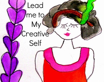 PDF Lead Me to My Creative Self: How God Opened My Creative Heart 30 Days Beginner Creativity