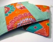 Colorful Medallions Pot Holders