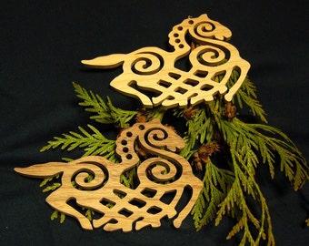 Sleipnir Silhouets - Hand Cut