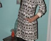Vintage I.Magnin Mod dress