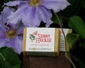 Fragrant Honeysuckle Bath Soap, heavenly floral decadent moisturizing bar soap