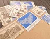 Heirloom Lace .. UNused Vintage Postage Stamps .. post 5 letters