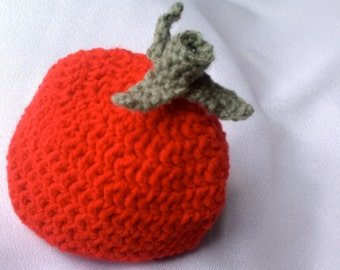 Tomato  Baby Hat, Crochet