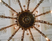 Chandelier in the Old State Capital of Kentucky - Photograph Print - 8 x 10 inch