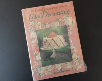 Vintage Cake Decorating Cook Book-Good Housekeeping 1961-All Occasions