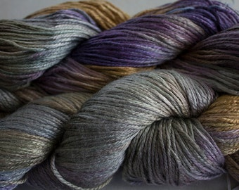 Silk Bamboo, Hand painted yarn, 225 yds - Summer