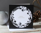 Mr Yen Botanical Christmas Card Set of Five