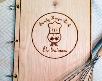 Cook Book Family Recipe Custom Name