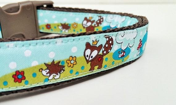 Little Fox Prince - Dog Collar / Adjustable / Handmade / Pet Accessories