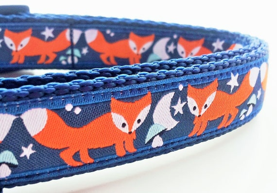 What Does the Fox Say - Dog Collar / Pet Accessories / Handmade /  Adjustable