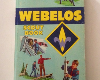 Vintage Boy Scout Book