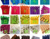 14 inch Handbag zippers with long pull, Choose FIVE pcs - neutrals, turquoise, aqua, purple, green, sunflower, orange, hot pink, red
