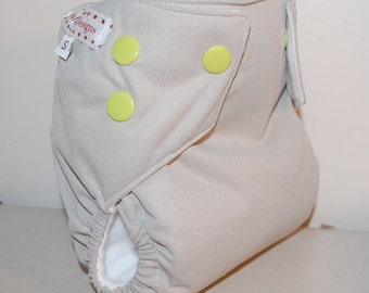 LuluBellDesigns Cloth Pocket Diaper Medium 18-28 lbs SOLIDS