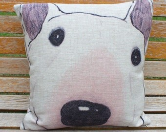 Decorative Pillow With Dog : Popular items for dog throw pillows on Etsy