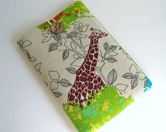 iPad Mini Case Cover, Kindle Cover, Kindle Sleeve, iPad Mini Sleeve, Custom Tablet Gadget Accessory Sleeve - Savannah
