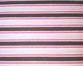 "Pink & Brown ""Pimatex Basics"" - Robert Kaufman - Screen Print D#BKT8924 - Cotton - 23in x 44in - See Shop Announcement for 60% off discount"