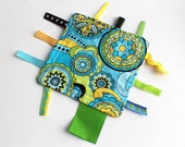 Fidget - Kaleidoscope Edition - A Montessori and Waldorf Inspired Ribbon Baby Sensory Toy