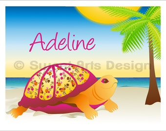 Turtle  -  Wall Print  (or)  Greeting Cards