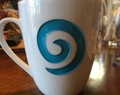 World of Warcraft inspired - Engraved Hearthstone Coffee cup - Back in Stock - Limited Quantity 12oz mug - castastone