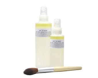 Vegan Daily Makeup Brush Cleanser - No chemical solvents, artificial colours or fragrance - 2 sizes available