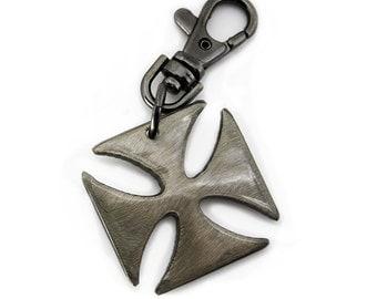 Iron Cross Key Chain / Keychains Online/ Keychain/ Gift For Men/ Groomsmen Gifts/ Cool Keychains/ German Iron Cross/ Keychain