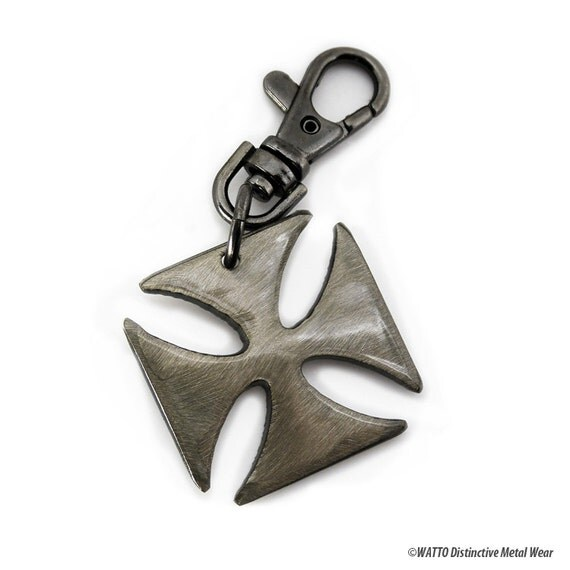 Iron Cross Key Chain / Keychains Online/ Keychain/ Gift For Men/ Groomsmen Gifts/ Cool Keychains/ German Iron Cross/ Keychain