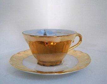 Vintage Collectible Souvenir Porcelain Bavaria Teacup & Saucer London Big Ben West Germany