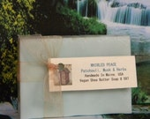 WHIRLED PEACE Patchouli Soap - Handmade Scented Soap - Compare to Ralph Lauren Polo
