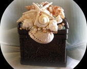 Song of the Seagulls Seashell Box