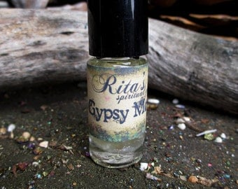 Rita's Gypsy Moon Hand Brewed Ritual Oil - Happiness, Connect With Nature - Pagan, Magic, Hoodoo, Witchcraft