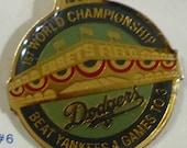 1955 Dodgers VS Yankees Collectors Pin