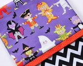 Trick or Treat Size Goblins, Ghosts, and Mummies Pillowcase